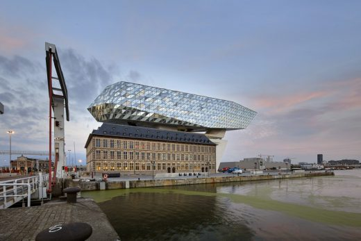 Port House in Antwerp building