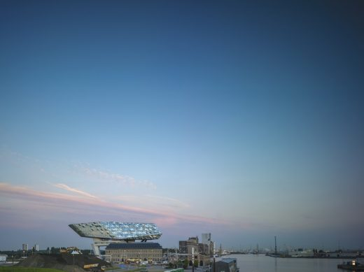 Port House in Antwerp by Zaha Hadid Architects