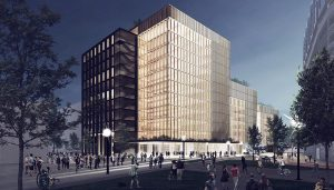 Largest timber-constructed office building in USA