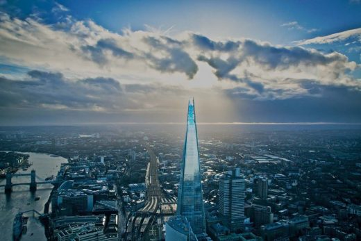 The Shard in London Building
