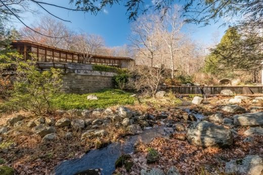 Frank Lloyd Wright Tirranna home in New Canaan