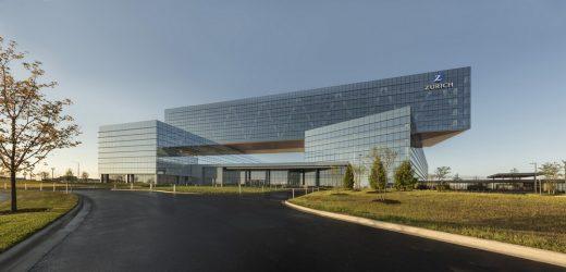Zurich North America Headquarters Building by Goettsch Partner
