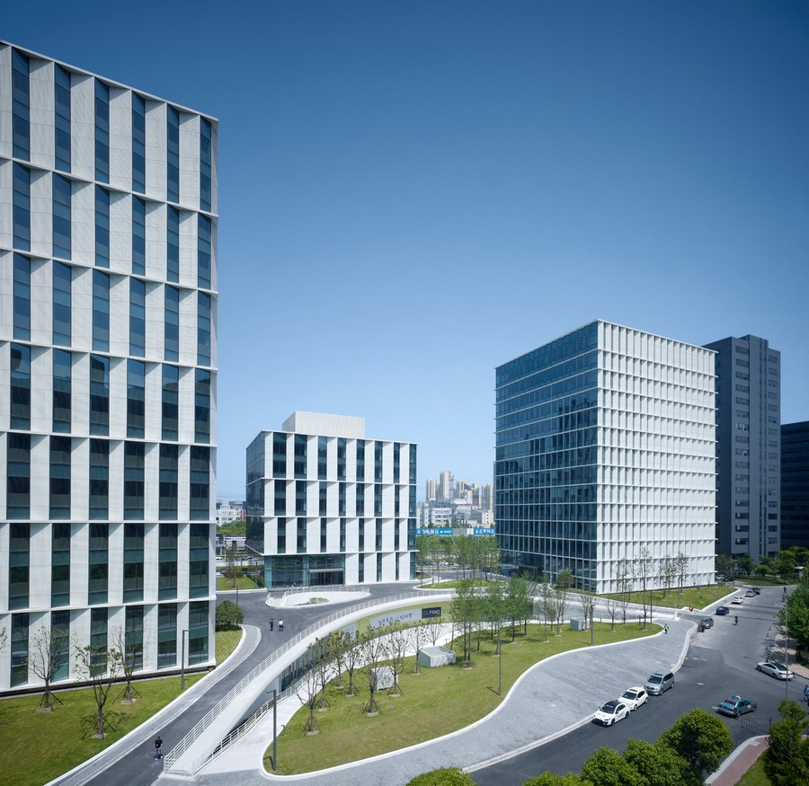 3cubes Office Building In Shanghai E Architect