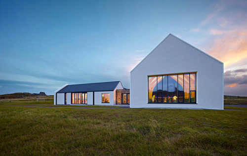 An Cridhe - the Isle of Coll's new community centre
