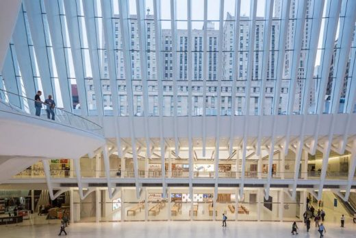 Apple Store World Trade Center Oculus - New York Architecture Walking Tours