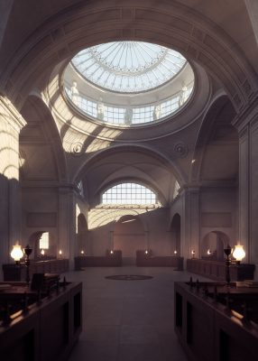 Bank of England Building Digital Reconstruction