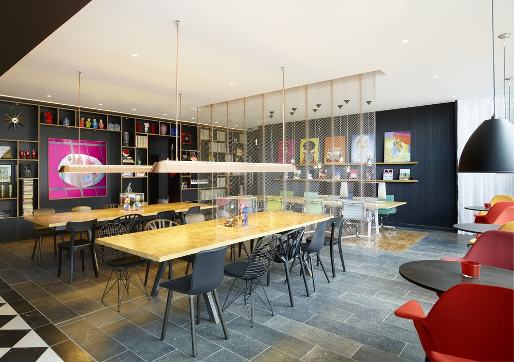 design hotel citizenm london, citizenm shoreditch hotel london - e-architect, Design ideen