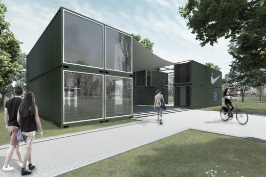 Container Sports Centre in Rome