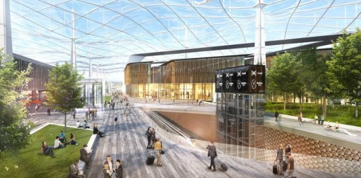 Heathrow Vision by Grimshaw design
