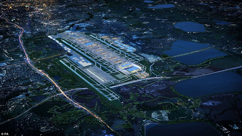 Heathrow Airport Third Runway Proposal E Architect