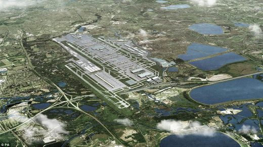 Heathrow Airport new third runway proposal
