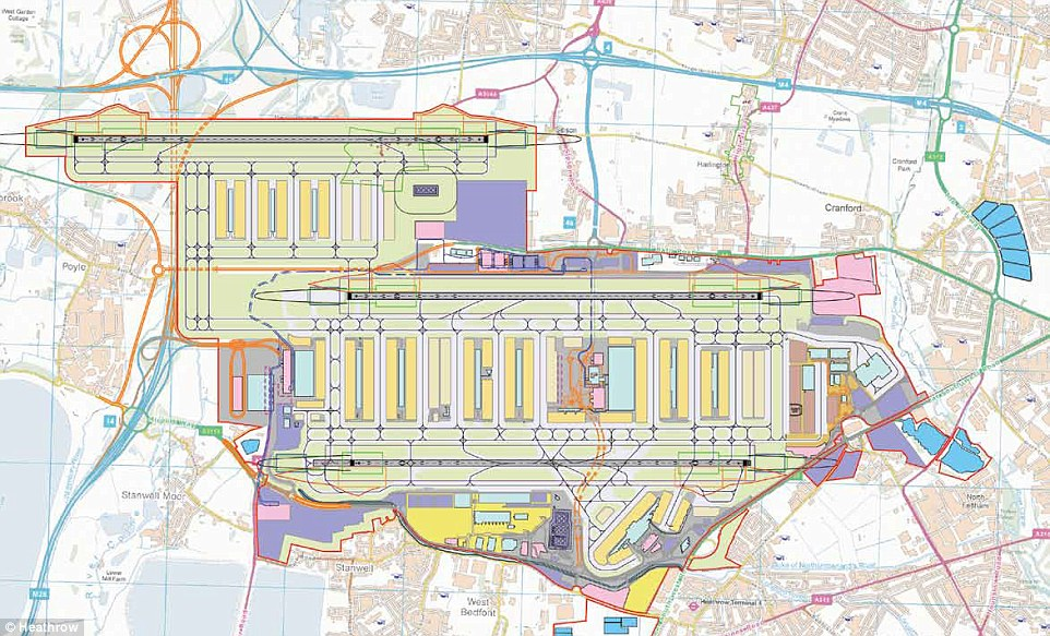 Heathrow airport third runway proposal e architect for House plans with future expansion
