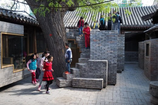 Hutong Children's Library and Art Centre, Beijing, China