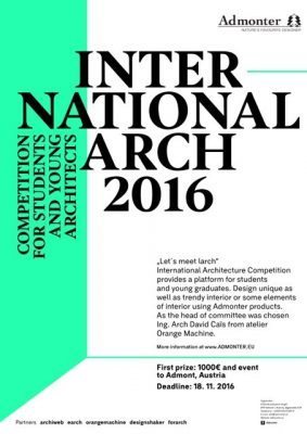 Architecture competition student 2016