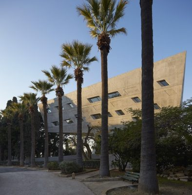 Issam Fares Institute in Beirut building Lebanon by Zaha Hadid Architects