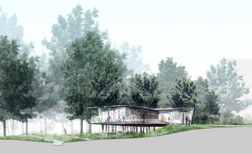 Maggie's Oxford Cancer Caring Centre building design