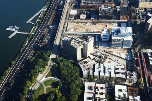 Manhattanville Campus Aerial