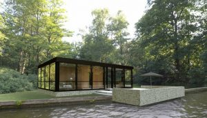 Modular Glass House by Philip Johnson Alan Ritchie Architects