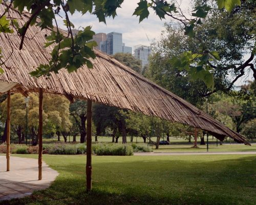 MPavilion building by Bijoy Jain