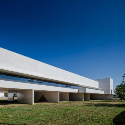 Gallery and Library Building in Portugal design by architect Álvaro Siza Vieira