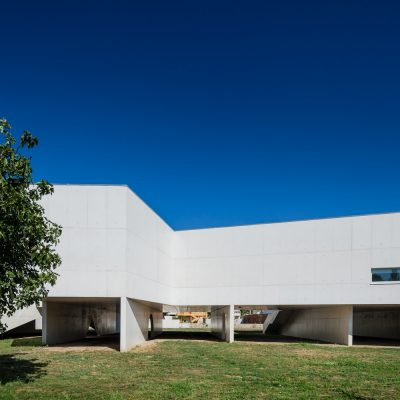 Gallery and Library Building in Portugal design by Álvaro Siza Vieira architect