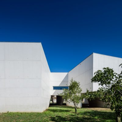 Gallery and Library Building in Portugal design by Álvaro Siza Vieira