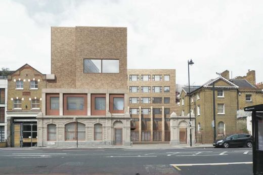New Hackney Primary School by Henley Halebrown architects
