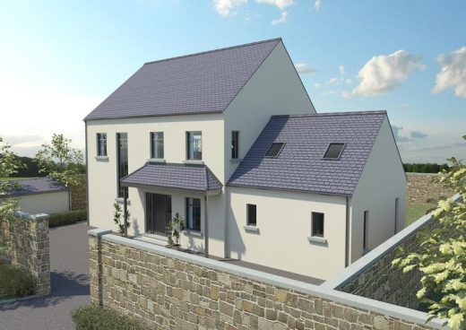 New Timber Frame House Build in Ireland