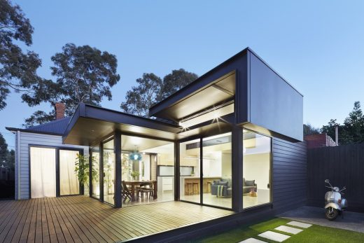 pod house in melbourne