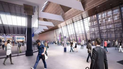 Queen Street Station Renewal design by BDP Architects