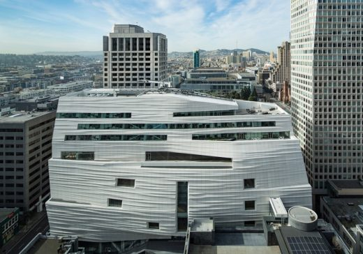 SFMOMA building in San Francisco