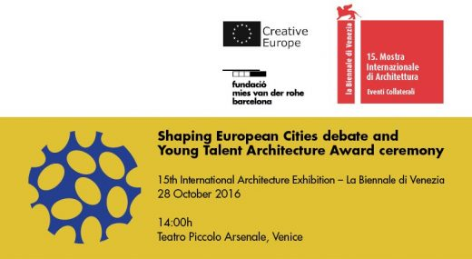 Shaping European Cities II Debate event