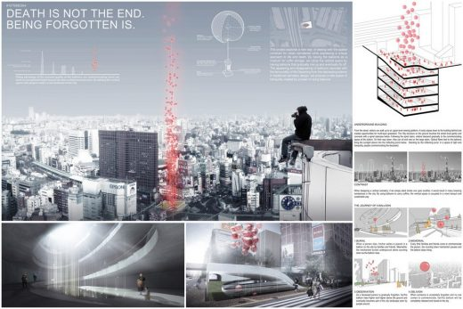 Tokyo Vertical Cemetery Competition winner