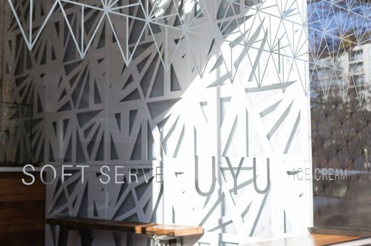 UYU Ice Cream Shop Vancouver Architecture News