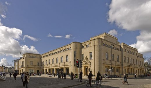 Weston Library at Oxford University