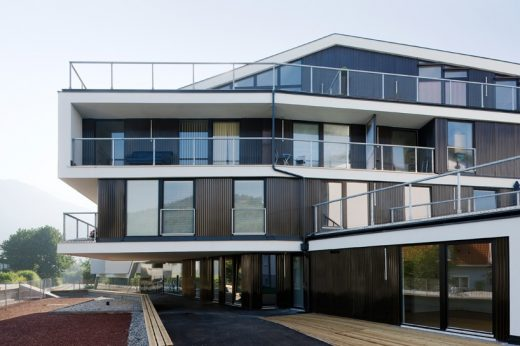 22 Tops Housing Complex Austria design by HOLODECK architects