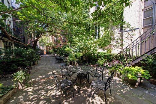 85 Perry Street Townhouse in Greenwich Village