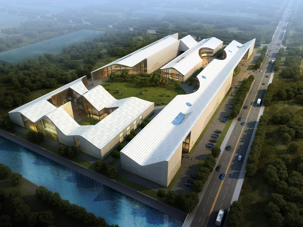 Arts factory and innovation center in sichuan e architect for Tianhua architecture design company