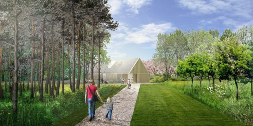 Brodie Castle landscape design by Hoskins architects