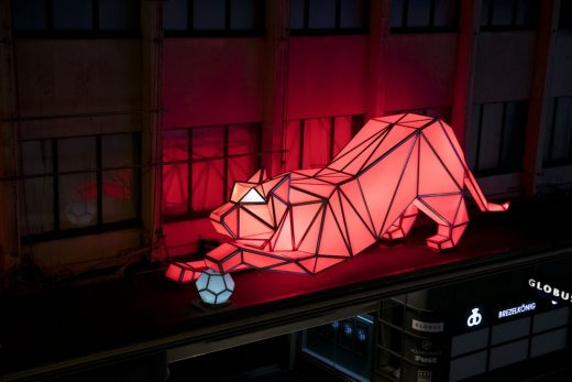 2016 Lausanne Light Festival Installation