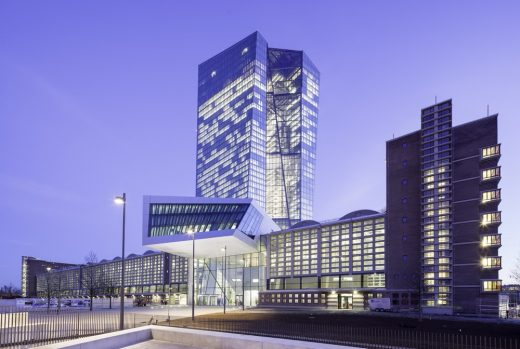 European Central Bank Frankfurt Architecture Tours