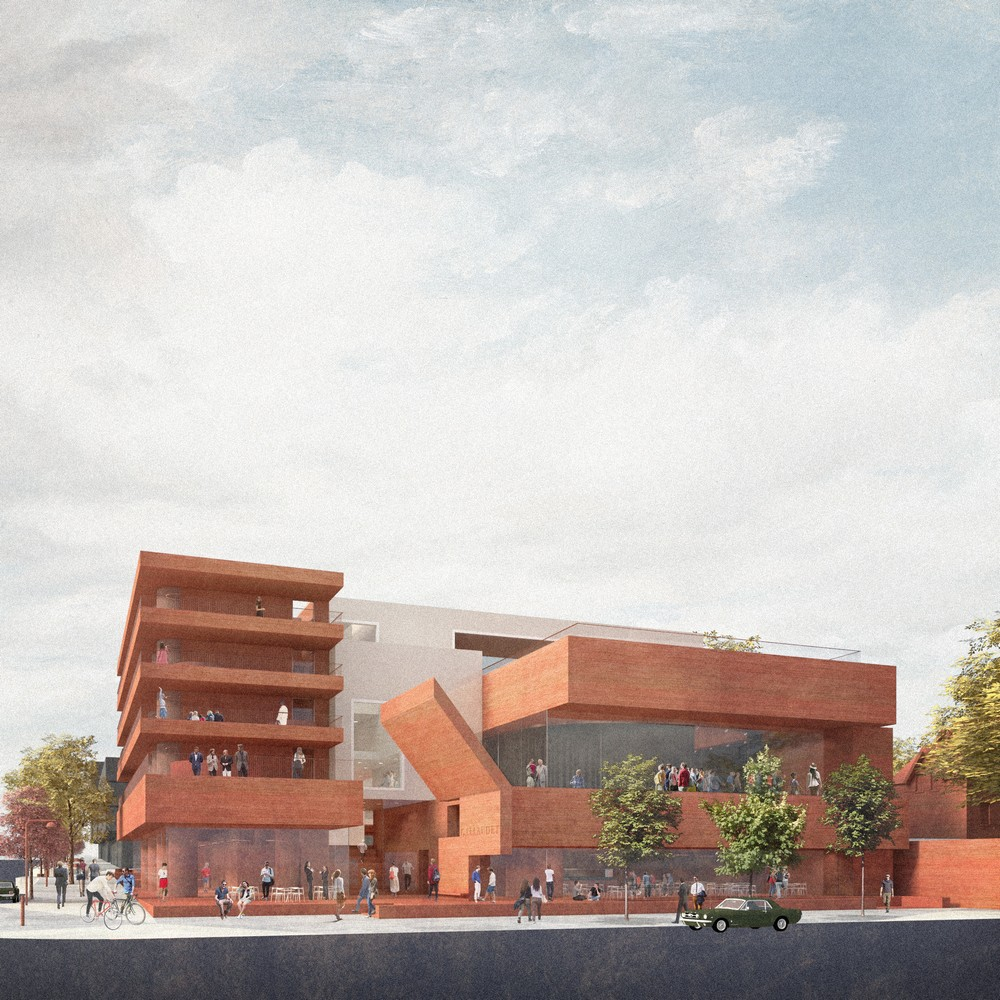 Gallaudet university design by hall mcknight architects 1 for College building design