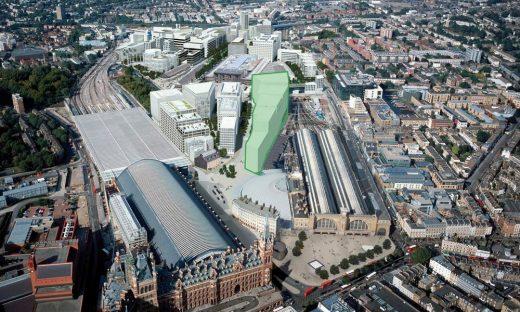 Google's New Headquarters at Kings Cross