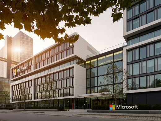 Headquarters Microsoft Offices Building