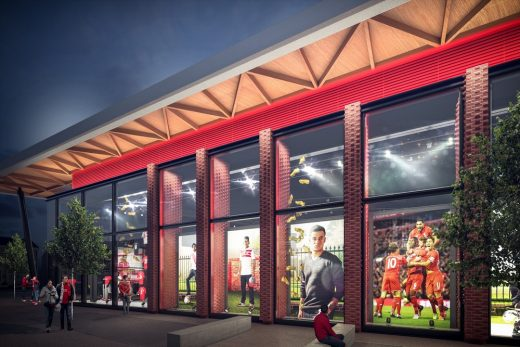 Liverpool FC New Anfield Stadium Store