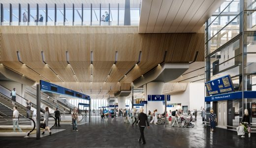 completed London Bridge concourse design