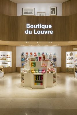 Musee Du Louvre Bookstore Giftshop