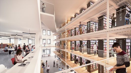 New Mid-Manhattan Library Building