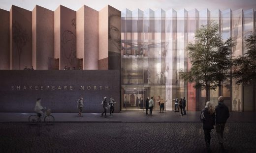 Shakespeare North Theatre Building in Knowsley