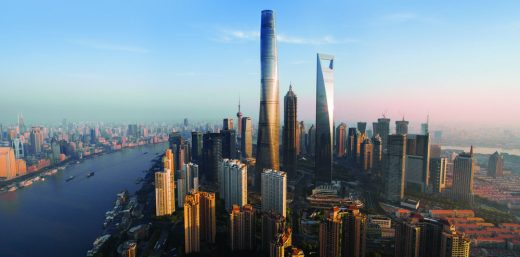 Shanghai Tower skyscraper building